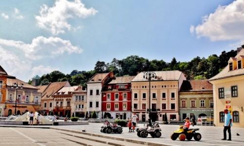 Zdjecie RUMUNIA / Siedmiogród / Braszów / Rynek w Braszowie