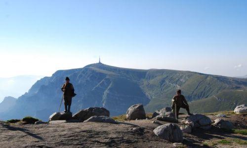 Zdjęcie RUMUNIA / Transylwania / Góry BUCEGI / Pasterze