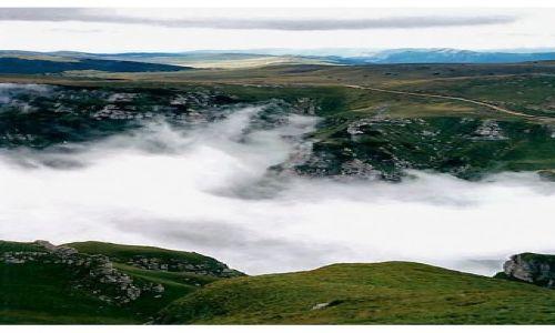 Zdjęcie RUMUNIA / Bucegi / dolina pod Caraimanem / Nad chmurami