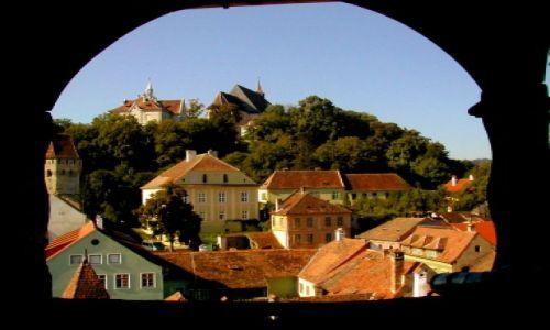 Zdjecie RUMUNIA / Transylwania / Sigishoara / okno na świat