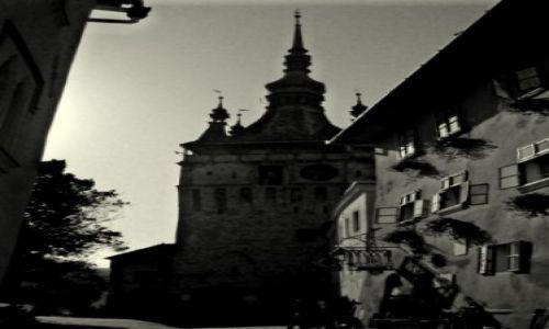 Zdjęcie RUMUNIA / Transylwania / Sigishoara / ten zegar jest całkiem bezduszny... ;)