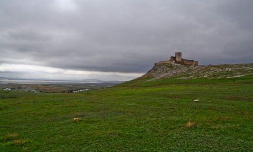 RUMUNIA / Dobrudza / Enisala / zamczysko