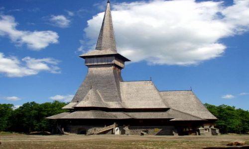 Zdjecie RUMUNIA / Maramuresz / Sapanta / Cerkiew