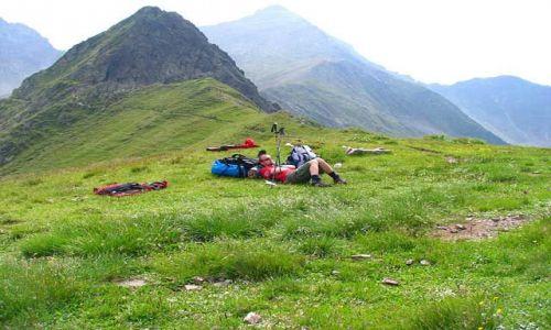 RUMUNIA / Góry Fogarskie / przełęcz Gribova / przełęcz Gribova