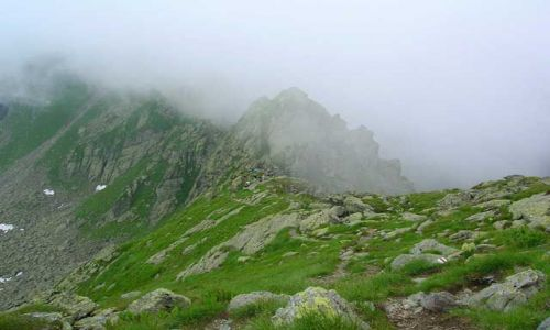 RUMUNIA / Góry Fogarskie / Serbota / W kierunku Negoiu 3