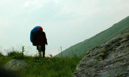 RUMUNIA / Góry Fogarskie / Cabana Negoiu / Zejście z gór.