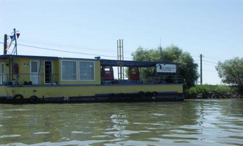 Zdjecie RUMUNIA / Delta Dunaju / okolice Crisan / szeroko pojęta stacja benzynowa