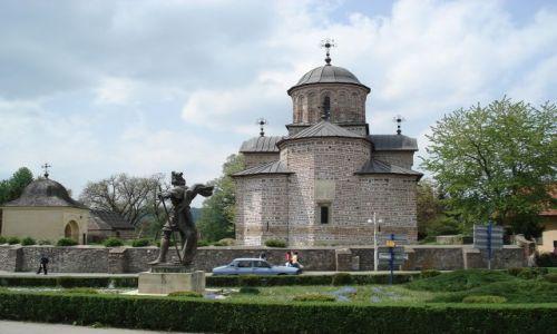 Zdjęcie RUMUNIA / Arges / Curtea de Arges / Cerkiew książęca w Curtea de Arges