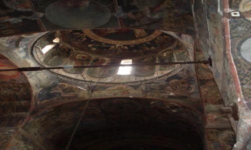 Zdjęcie RUMUNIA / Arges / Curtea de Arges / Wnętrze cerkwii książęcej (Curtea de Arges)