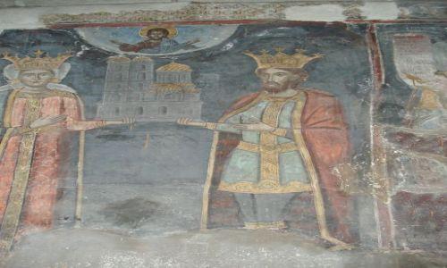 Zdjęcie RUMUNIA / Arges / Curtea de Arges / Freski cerkwii książęcej (Curtea de Arges)