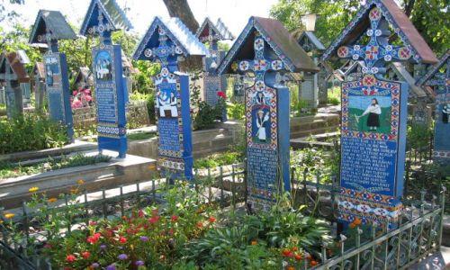 Zdjecie RUMUNIA / Maramures / Sapanta / Wesoły cmentarz w Sapanta
