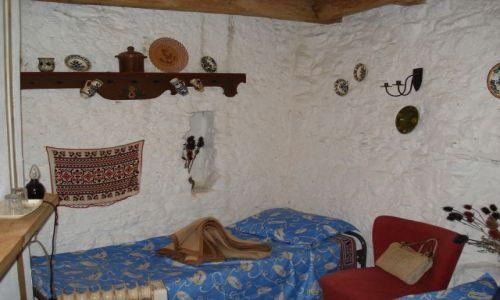 Zdjecie RUMUNIA / Alba (Siedmiogród) / Calnic / Zamek w Calnicu - pokój hotelowy