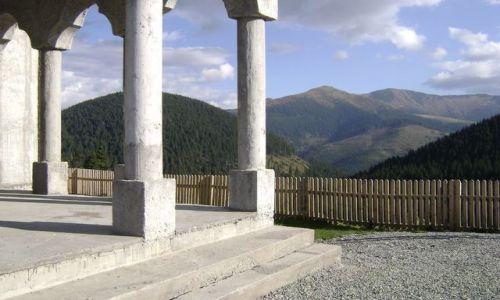 Zdjęcie RUMUNIA / - / Prislop, Borsa / Monastyr, przełęcz Prislop