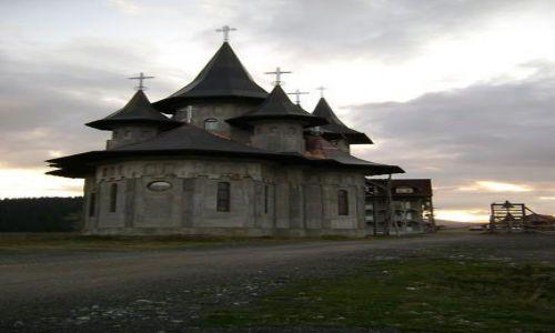 RUMUNIA / - / Borsa, Prislop / Prawosławny monastyr