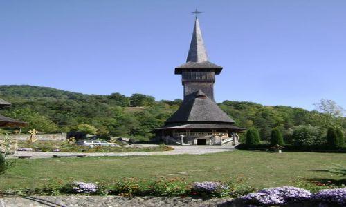 RUMUNIA / - / północ Rumunii / zespół klasztorny