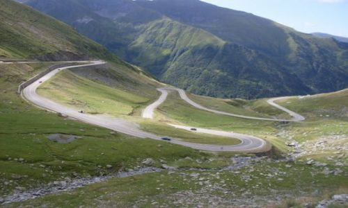 Zdjecie RUMUNIA / Fagarasze / Okolice Balea Lac / Transfagarasan
