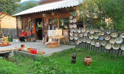 Zdjecie RUMUNIA / Transylwania / Horezu  - Karpaty Południowe / ceramika i inne