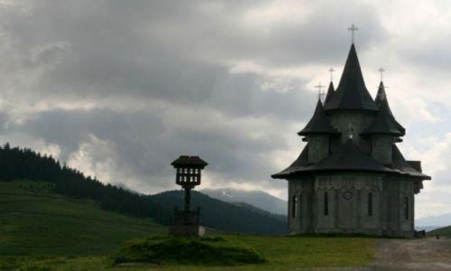 RUMUNIA / Bukowina / koło Baia Mare / nadchozdi burza