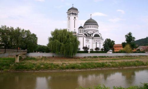 Zdjecie RUMUNIA / Transylwania / Sighisoara / nad wodą