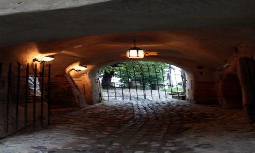 Zdjecie RUMUNIA / Transylwania / Sighisoara / W bramie