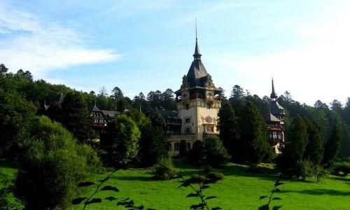Zdjęcie RUMUNIA / Siermiogród / Sinaia / zamek królewski Peles
