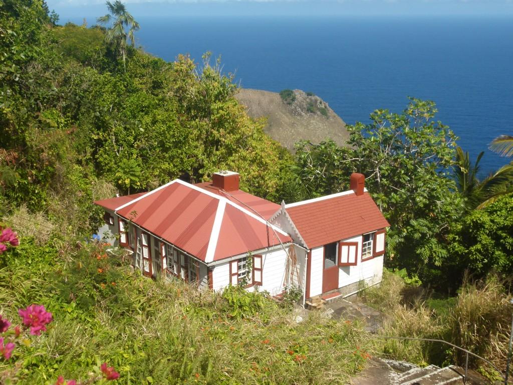 Zdjęcia: Windwardside, Saba, Reklama III, SABA (Holandia)