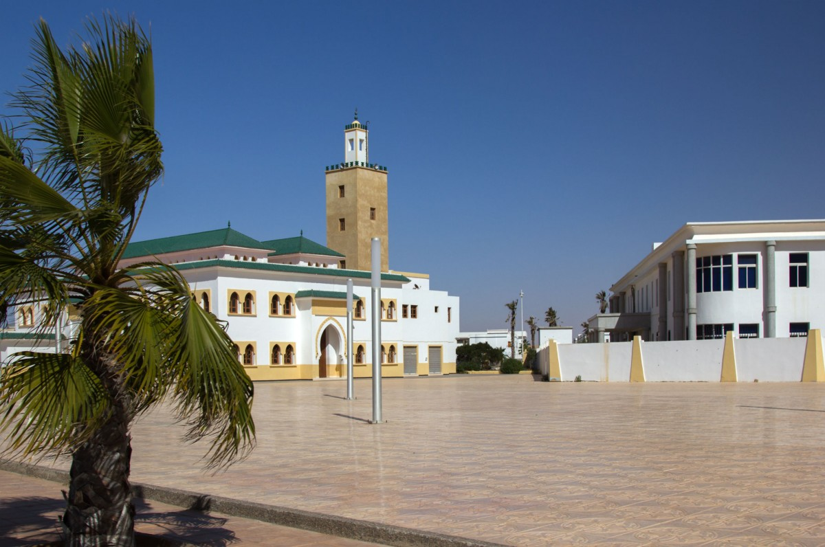 Zdjęcia: Al-Marsa, Al-Ujun-Budżdur-Sakija al-Hamra., Uliczki Al-Marsa, SAHARA ZACHODNIA