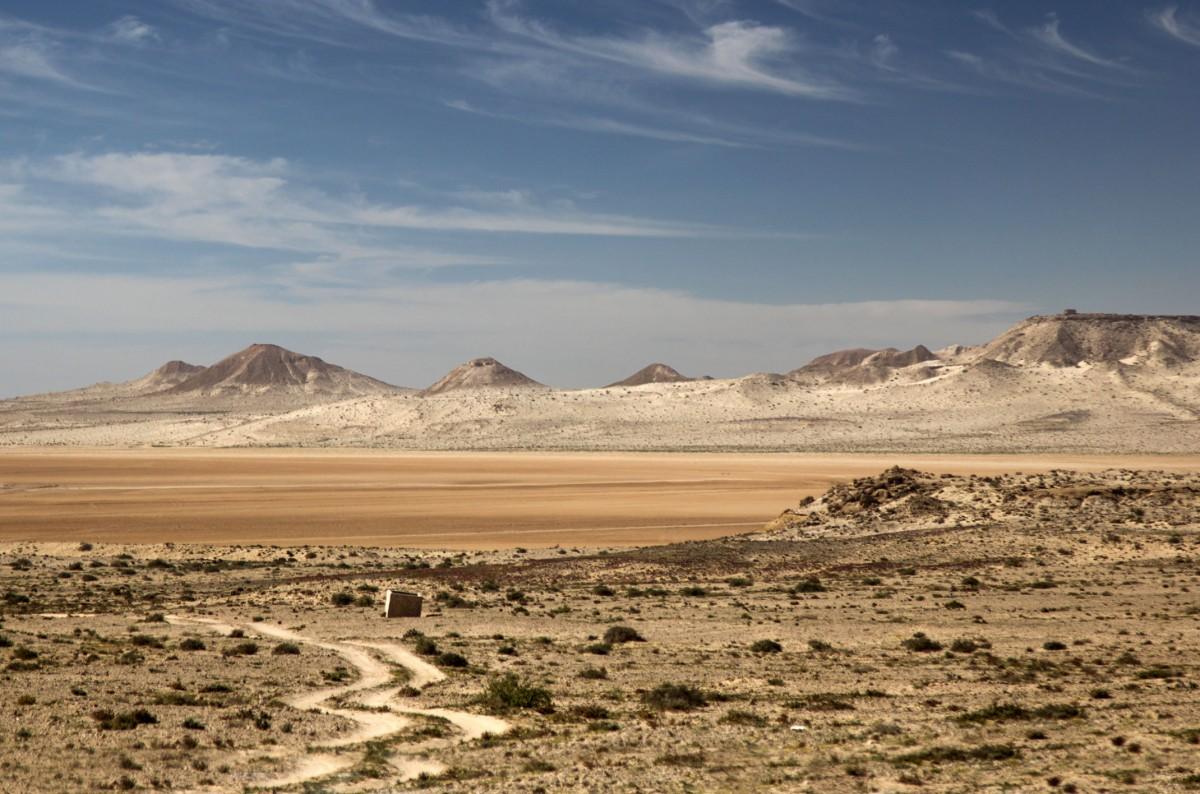 Zdjęcia: na dnie zatoki, Ad-Dachla-Wadi az-Zahab, Pastelowe widoki, SAHARA ZACHODNIA