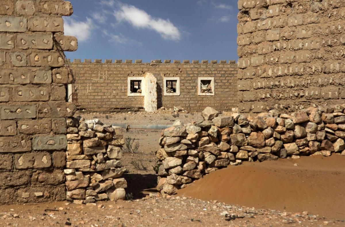 Zdjęcia:  El-Hagunia, Al-Ujun-As-Sakija al-Hamra, W starym forcie, SAHARA ZACHODNIA
