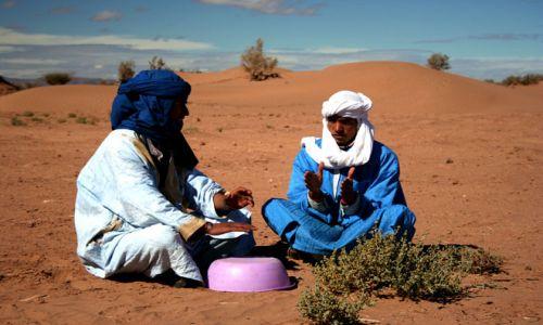 Zdjęcie SAHARA ZACHODNIA / Sahara / Sahara / radość życia