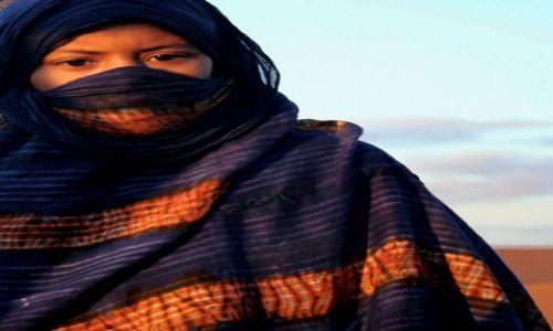 Zdjecie SAHARA ZACHODNIA / Sahara / Sahara / oczy dziecka