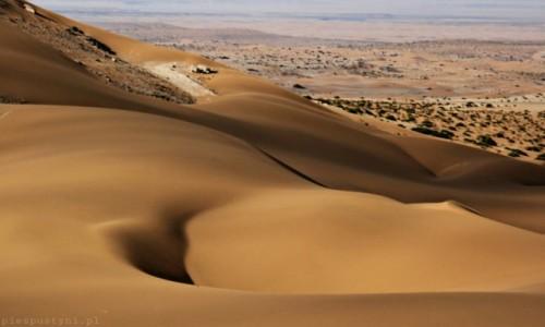 Zdjecie SAHARA ZACHODNIA / Sahara / Hagunia / Gładkość formy
