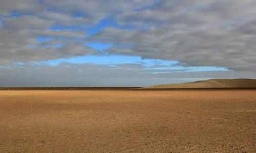 Zdjecie SAHARA ZACHODNIA / El Hagunia / w piaskach Sahary / Wielkie nic
