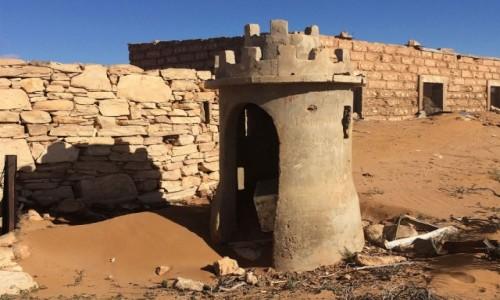 Zdjecie SAHARA ZACHODNIA / Laâyoune-Boujdour-Sakia El Hamra. / El Hagounia / Stary kolonialny fort