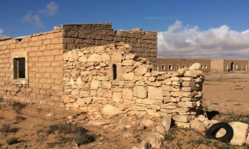 Zdjęcie SAHARA ZACHODNIA / Laâyoune-Boujdour-Sakia El Hamra. / El Hagounia / Stary kolonialny fort