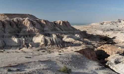 Zdjecie SAHARA ZACHODNIA / Laayoune-Sakia el Hamra / Jraifia - Village de Pêche Oued Kraa / W kierunku plaży