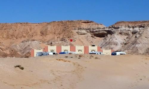 Zdjecie SAHARA ZACHODNIA / Laayoune-Sakia el Hamra / Jraifia - Village de Pêche Oued Kraa / Kamperów pięć