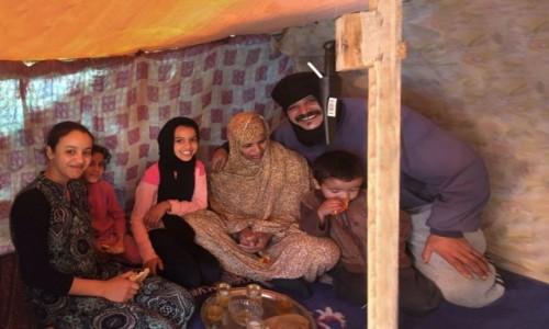 Zdjecie SAHARA ZACHODNIA / Al-Ujun-As-Sakija al-Hamra / Al-Ujun / W chałupie szczęśliwej rodzinki