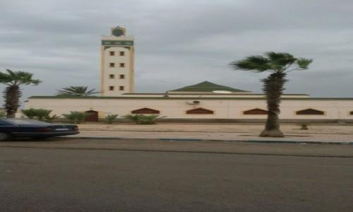 Zdjęcie SAHARA ZACHODNIA / Ad-Dachla-Wadi az-Zahab / Dahla / Meczet w Saharze Zachodniej
