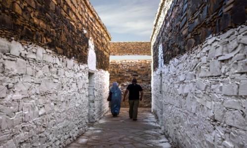 SAHARA ZACHODNIA / Saguia el Hamra;  / fort / Uliczki fortu Asmara