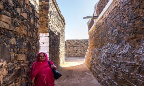 Zdjecie SAHARA ZACHODNIA / Saguia el Hamra; / fort / Uliczki fortu Asmara