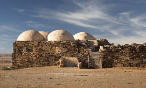 Zdjęcie SAHARA ZACHODNIA / Saguia el Hamra; / fort / Asmara