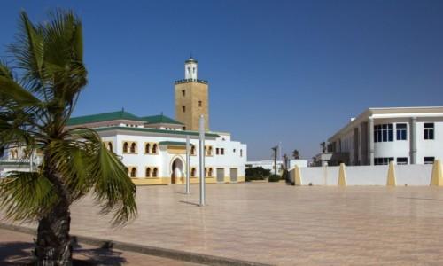 Zdjecie SAHARA ZACHODNIA / Al-Ujun-Budżdur-Sakija al-Hamra. / Al-Marsa / Uliczki Al-Marsa