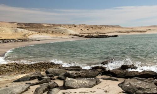 SAHARA ZACHODNIA / Ad-Dachla-Wadi az-Zahab / Portorico / Na plaży
