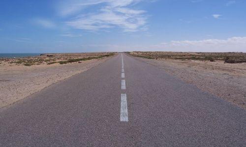 Zdjęcie SAHARA ZACHODNIA / brak / Sahara / Droga do nikąd