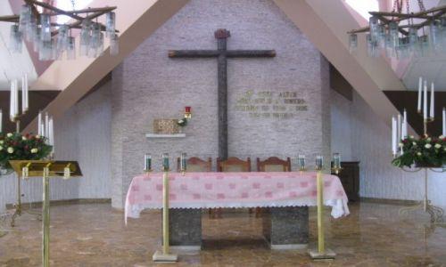 Zdjęcie SALWADOR / - / San Salvador / Ołtarz w kościele przy którym zamordowano biskupa