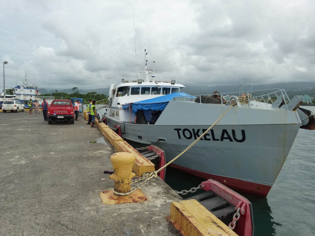 Zdjęcia: Apia, Upolu, Mv Tokelau, SAMOA