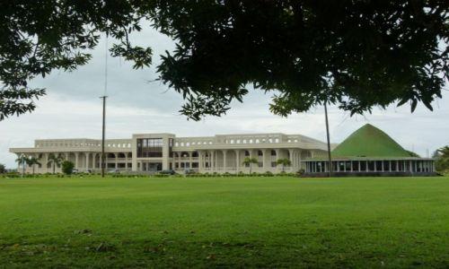 Zdjęcie SAMOA / Upolu / Apia / Gmach parlamentu II