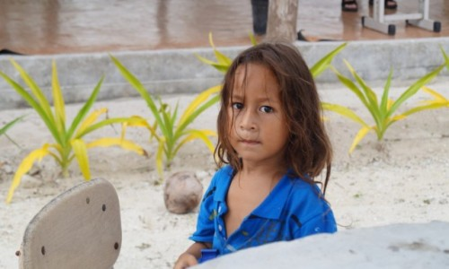Zdjęcie SAMOA / Południe / plaża / Mały macho z Samoa