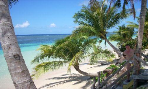 Zdjęcie SAMOA ZACHODNIE / Tanu beach - tradycyjne domki / Tanu beach / Plaża Tanu beach